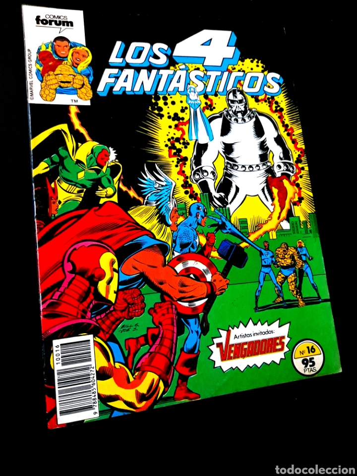 MUY BUEN ESTADO LOS 4 FANTASTICOS 16 COMICS FORUM MARVEL (Tebeos y Comics - Forum - 4 Fantásticos)