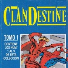 Cómics: CLAN DESTINE - TOMO 1 - RETAPADO Nº 1 AL 9 DE ESTA COLECCION - COMPLETA - FORUM #. Lote 258880835