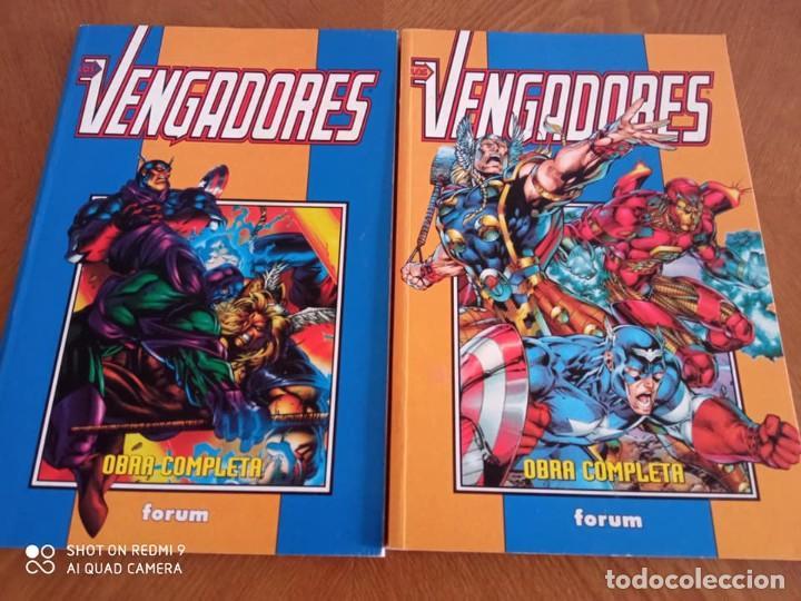 LOS VENGADORES REBORN COMPLETA (Tebeos y Comics - Forum - Retapados)