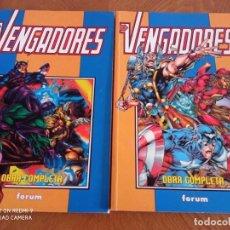 Cómics: LOS VENGADORES REBORN COMPLETA. Lote 258881315