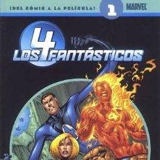 Cómics: LOS 4 FANTASTICOS COLECCIONABLE SEMANAL NUMERO 1 - EJEMPLAR NUEVO. Lote 84656468