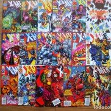Cómics: X-MEN VOL. 2 Nº 1 AL 60 LOTE 60 PRIMEROS NÚMEROS (FORUM) (Y LUEGO PANINI). Lote 259226710