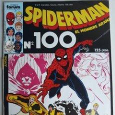 Cómics: COMIC SPIDERMAN Nº 100 FORUM VOL 1 DE RETAPADO. Lote 259304045