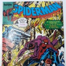 Cómics: COMIC SPIDERMAN Nº 195 FORUM AÑO 1989 DE RETAPADO. Lote 259933900