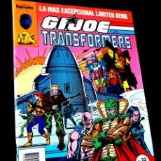 Cómics: CASI EXCELENTE ESTADO G.I.JOE Y LOS TRANSFORMERS 23 COMICS FORUM. Lote 260020675