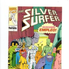 Cómics: THE SILVER SURFER Nº 3. JIM STARLIN, RON LIM, TOM CHRISTOPHER, VINCENT. FORUM, 1992. Lote 260309330