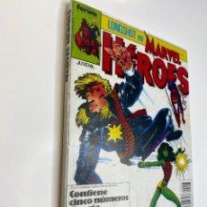 Cómics: MARVEL HEROES (LONGSHOT) HULKA, SPIDER-MAN Y EL CASTIGADOR. (1988). Lote 260400180