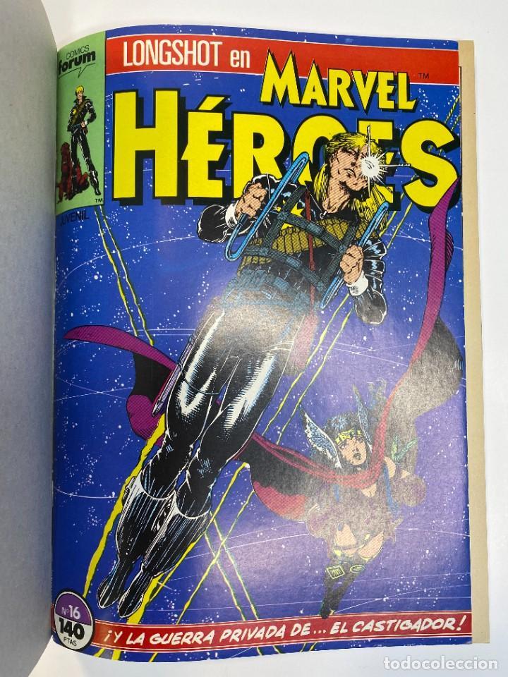 Cómics: Marvel Heroes (Longshot) Hulka, Spider-Man y El Castigador. (1988) - Foto 8 - 260400180