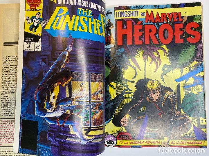 Cómics: Marvel Heroes (Longshot) Hulka, Spider-Man y El Castigador. (1988) - Foto 9 - 260400180