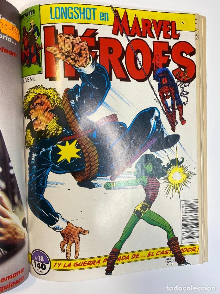 Cómics: Marvel Heroes (Longshot) Hulka, Spider-Man y El Castigador. (1988) - Foto 10 - 260400180