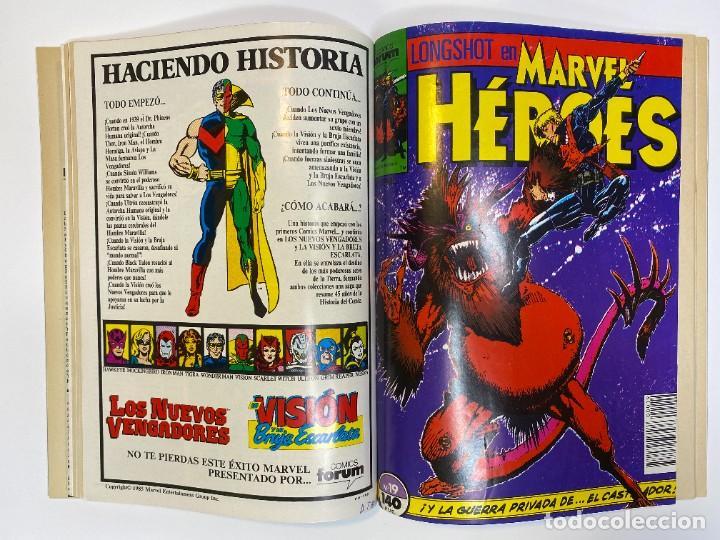 Cómics: Marvel Heroes (Longshot) Hulka, Spider-Man y El Castigador. (1988) - Foto 11 - 260400180