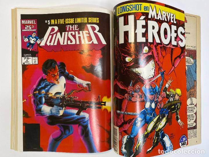 Cómics: Marvel Heroes (Longshot) Hulka, Spider-Man y El Castigador. (1988) - Foto 12 - 260400180