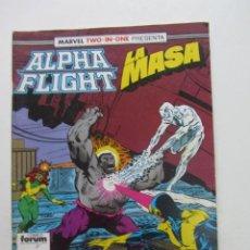 Cómics: MARVEL TWO - IN - ONE. ALPHA FLIGHT - LA MASA. Nº 52. FORUM ARX94. Lote 260455920