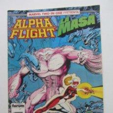 Cómics: MARVEL TWO - IN - ONE. ALPHA FLIGHT - LA MASA. Nº 48 FORUM ARX94. Lote 260456110