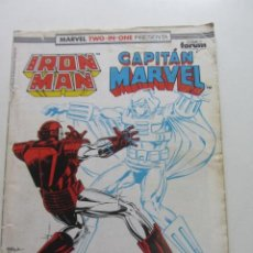 Cómics: MARVEL TWO IN ONE IRON MAN CAPITAN MARVEL Nº 55 FORUM MUCHOS EN VENTA MIRA TUS FALTAS ARX95. Lote 260472005