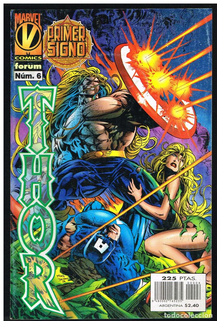 THOR Nº 6 - PRIMER SIGNO - FORUM (Tebeos y Comics - Forum - Thor)