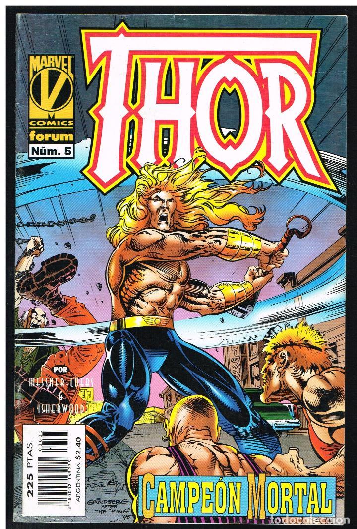 THOR Nº 5 - CAMPEON MORTAL - FORUM (Tebeos y Comics - Forum - Thor)