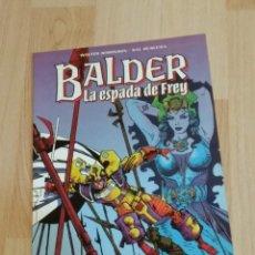 Cómics: BALDER LA ESPADA DE FREY TOMO ÚNICO FORUM.WALTER SIMONSON /SAL BUSCEMA. Lote 260554290