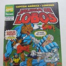 Cómics: JAURIA DE LOBOS Nº 4 FORUM MUCHOS EN VENTA MIRA TUS FALTAS ARX95. Lote 260585710