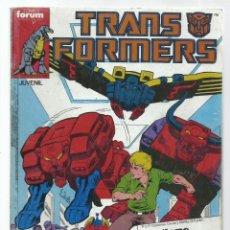 Cómics: TRANSFORMERS RETAPADO 31 A 35, 1988, FORUM, BUEN ESTADO. Lote 260653135