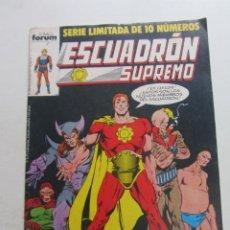 Cómics: ESCUADRON SUPREMO, Nº 5 FORUM MUCHOS EN VENTA MIRA TUS FALTAS ARX95. Lote 260729855