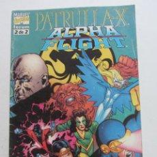 Cómics: PATRULLA X ALPHA FLIGHT Nº 2 DE 2 1999 FORUM MUCHOS EN VENTA MIRA TUS FALTAS ARX95. Lote 260732930