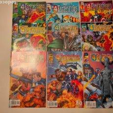Comics : 4 FANTÁSTICOS HEROES REBORN #1-9,11 - LEE, CHOI. Lote 130263964