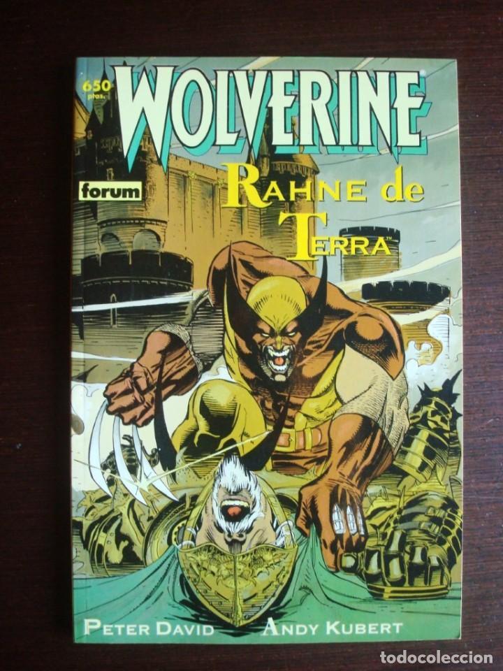LOBEZNO WOLVERINE - RAHNE DE TERRA (COLECCIÓN PRESTIGIO Nº 41) FORUM (Tebeos y Comics - Forum - Prestiges y Tomos)