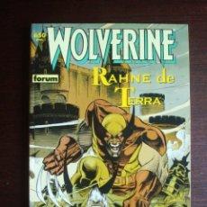 Cómics: LOBEZNO WOLVERINE - RAHNE DE TERRA (COLECCIÓN PRESTIGIO Nº 41) FORUM. Lote 261166690