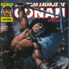 Comics : LA ESPADA SALVAJE DE CONAN CÓMICS FÓRUM NÚMERO 158. Lote 261196845