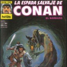 Comics : LA ESPADA SALVAJE DE CONAN CÓMICS FÓRUM NÚMERO 161. Lote 261199535