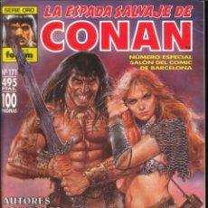 Cómics: LA ESPADA SALVAJE DE CONAN CÓMICS FÓRUM NÚMERO 171. Lote 261199985