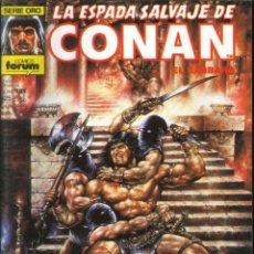 Cómics: LA ESPADA SALVAJE DE CONAN CÓMICS FÓRUM NÚMERO 164. Lote 261200455