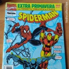 Cómics: SPIDERMAN EXTRA PRIMAVERA LA VENDETTA VIBRANIUM. Lote 261254530