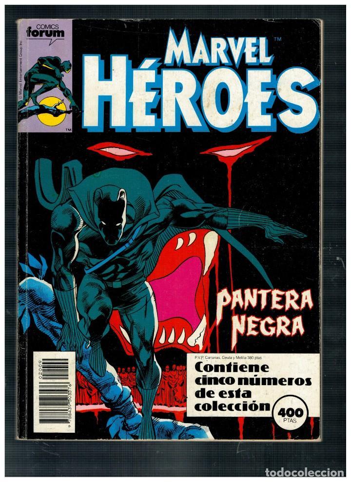 MARVEL HÉROES. TOMO RETAPADO CON LOS NÚMEROS 45,46,47,48 Y 49. FORUM.BUENO. (Tebeos y Comics - Forum - Retapados)