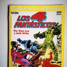 Cómics: LOS 4 FANTÁSTICOS - ESPECIAL VERANO - FORUM 1990. Lote 261290705