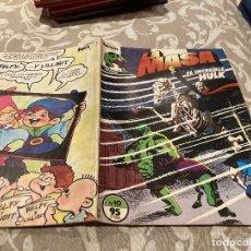 Cómics: LA MASA EL INCREIBLE HULK VOL 1 N°10 - EDICIONES FORUM. Lote 261415420