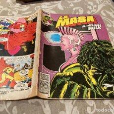 Cómics: LA MASA EL INCREIBLE HULK VOL 1 N°24 - EDICIONES FORUM. Lote 261500085