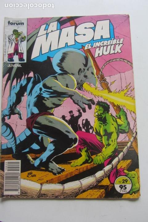 LA MASA Nº 29 HULK FORUM MUCHOS EN VENTA MIRA TUS FALTAS ARX83 (Tebeos y Comics - Forum - Hulk)