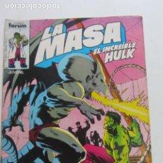 Cómics: LA MASA Nº 29 HULK FORUM MUCHOS EN VENTA MIRA TUS FALTAS ARX83. Lote 261616005