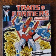 Cómics: TRANSFORMERS TOMO RETAPADO DEL Nº 46 AL 50- CONTIENE SERIE LIMITADA TRANSFORMERS THE MOVIE & ROM. Lote 261671815