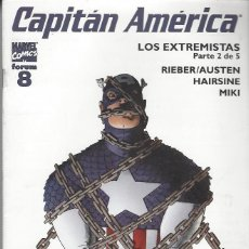 Cómics: CAPITAN AMERICA VOL. 5 - Nº 8 - PERFECTO ESTADO. Lote 261689150
