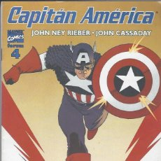 Cómics: CAPITAN AMERICA VOL. 5 - Nº 4 - PERFECTO ESTADO. Lote 261689435