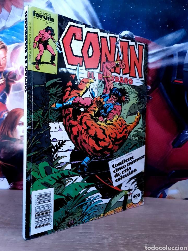 CASI EXCELENTE ESTADO CONAN EL BARBARO 151 AL 155 RETAPADO COMICS FÓRUM (Tebeos y Comics - Forum - Retapados)