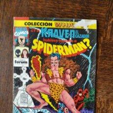Comics : WHAT IF Nº 26 - ¿Y SI KRAVEN EL CAZADOR HUBIERA MATADO A SPIDER-MAN? - MARVEL COMICS FORUM SPIDEMAN. Lote 261781290