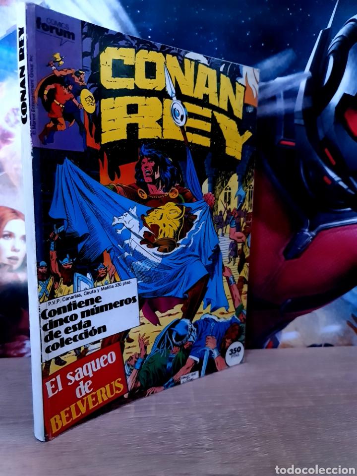 MUY BUEN ESTADO CONAN REY 41 AL 45 RETAPADO COMICS FÓRUM (Tebeos y Comics - Forum - Retapados)