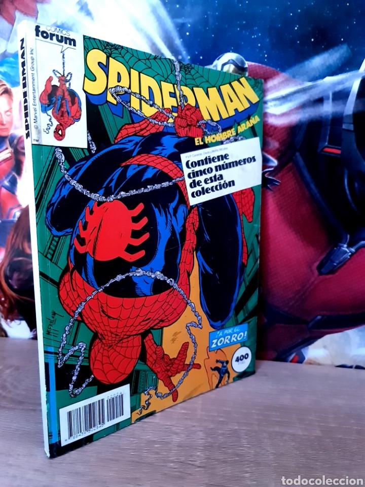 EXCELENTE ESTADO SPIDERMAN 196 AL 200 RETAPADO COMICS FÓRUM (Tebeos y Comics - Forum - Retapados)