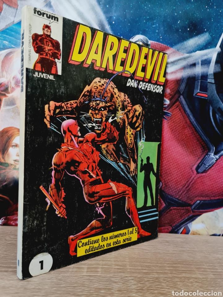 MUY BUEN ESTADO DAREDEVIL RETAPADO 1 AL 5 COMICS FÓRUM (Tebeos y Comics - Forum - Retapados)