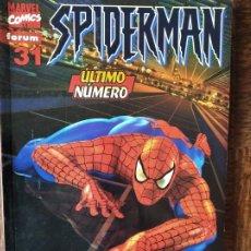 Cómics: SPIDERMAN V.5 VOLUMEN Nº 31 ULTIMO NUMERO - SPIDER-MAN LOMO ROJO. Lote 261786350