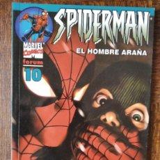 Cómics: SPIDERMAN V.6 VOLUMEN Nº 10 - SPIDER-MAN LOMO AZUL FORUM. Lote 261787275
